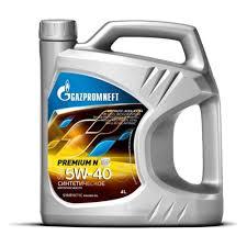 <b>Моторное масло Газпромнефть Premium</b> N 5W-40 4 л — купить в ...