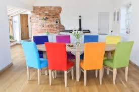 coloured chairs bright coloured furniture