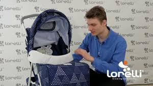 Детская <b>коляска Lorelli Terra</b> - YouTube