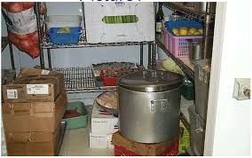 food safety online content food items in food premises storage area