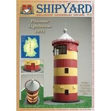 Купить <b>Сборная картонная модель Shipyard</b> маяк Pilsumer ...
