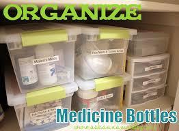 bathroom medicine cabinet organizer