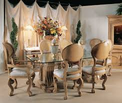 Funky Dining Room Furniture Upholstered Winged Chairs Will Give Your Dining Room An Air Of