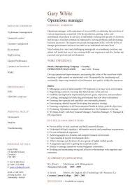 management cv template  managers jobs  director  project    marketing manager cv  middot  office manager cv  middot  operations manager cv