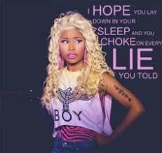 By Nicki Minaj Quotes. QuotesGram via Relatably.com