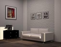 luxury living room brick wall design home interior brick living room furniture