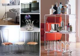 more acrylic furniture finds for a sleek style acrilic furniture