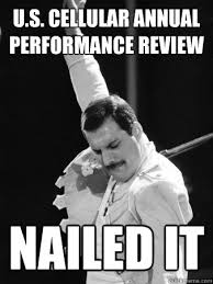 U.S. Cellular annual performance review Nailed it - Freddie ... via Relatably.com