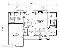 House Plan at FamilyHomePlans comCape Cod Country Ranch Southern Traditional House Plan Level One