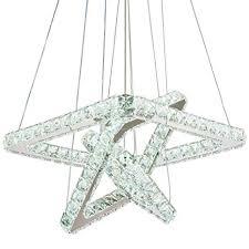 Modern <b>Crystal Chandeliers LED Chandelier</b> Pendant <b>Lights</b> ...
