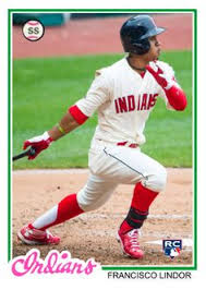 Image result for francisco lindor card