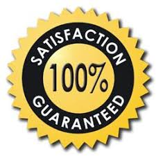 Image result for 100% SATISFACTION GUARANTEE!