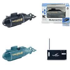 Mini four <b>six way</b> wireless <b>remote control</b> submarine charging ...
