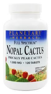 Planetary Herbals - <b>Nopal Cactus Full Spectrum</b> 1000 mg. - 120 ...