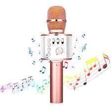 <b>Wireless Karaoke Microphone</b> - NASUM 3-in-1 Portable Built in ...