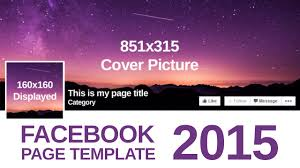advanced facebook page template psd advanced facebook page template 2015 psd