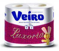 Купить <b>Туалетная бумага VEIRO Luxoria</b> в Санкт-Петербурге ...
