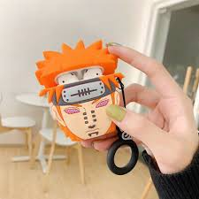 <b>3D Cartoon Naruto</b> Pain Silicone Cover For Apple AirPods Wireless ...