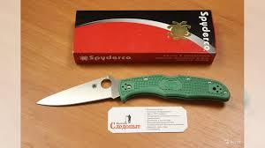 <b>Нож складной</b> Spyderco <b>Endura Flat</b> Ground C10fpgr купить в ...