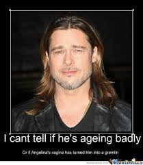 Brad Pitt by pixiofdoom - Meme Center via Relatably.com
