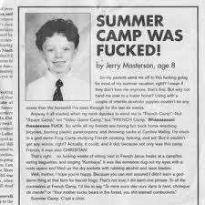 So Jerry, How Was Summer Camp? by deadlychef - Meme Center via Relatably.com