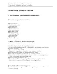warehouse worker resume sample  tomorrowworld co   job description for warehouse worker resume warehouse worker resume sample example distribution job description resume caregiver   warehouse worker