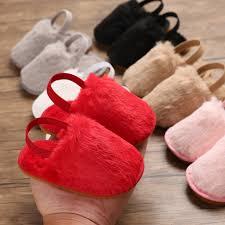 <b>2019 Autumn Newborn Toddler</b> Girl Fur Sneakers Baby Girl Summer ...