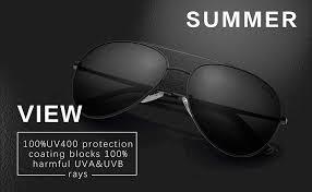 LUENX <b>Mens Sunglasses Polarized</b> Womens with Case - <b>UV 400</b> ...