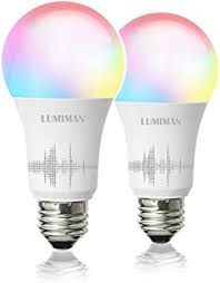 Smart <b>WiFi Light</b> Bulb, <b>LED</b> RGBCW Color Changing, Compatible ...