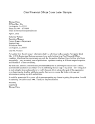 cfo cover letters template cfo cover letters