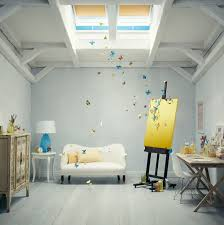 velux skylights artist studio contemporary artist studio lighting