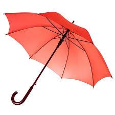 <b>Зонт</b>-трость <b>Unit Standard</b>, красный - <b>Green</b> Studio Промо сувениры
