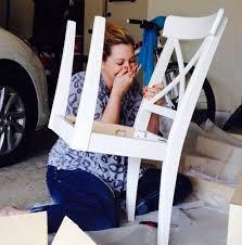 ikea customer fails 6 assembling ikea chair