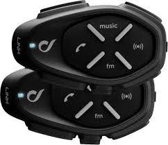 <b>Мото</b> - <b>bluetooth гарнитура</b> - Interphone LINK - (комплект из 2 шт.)