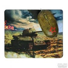 <b>Мышь</b> + коврик <b>CBR Tank</b> Battle, 1200 dpi, рисунок, USB — купить ...