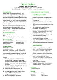 project manager resume help resume for fine jewelry  s