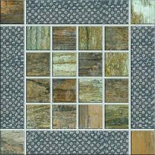 MetalWood Beige Inserto 15x15 <b>декор</b> от Ceramiche RHS ...