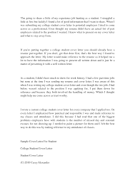 high school student cover letter template high school  letter college student