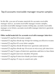 accounts receivable manager resume template equations solver sle resume accounts receivable payable top8accountsreceivablemanagerresumesles 150402093948 conversion gate01 thumbnail 4 jpg cb 1427985640