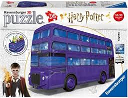 Ravensburger Harry Potter Knight Bus 216 piece <b>3D Jigsaw Puzzle</b> ...