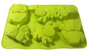 <b>Silica gel</b> cake <b>mould</b> 6 with cartoon pudding jelly <b>mold</b>   Etsy