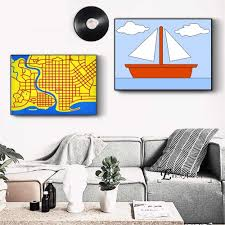 Simpsons <b>Pop Art Canvas Painting</b> Posters And Prints For Living ...