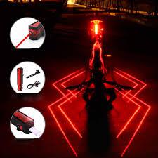 GIYO Bike Tail Rear Light Waterproof <b>Cycling Lamp Folding Laser</b> ...