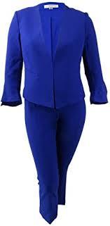 Tahari ASL Womens Petites Professional <b>2PC</b> Pant Suit Women ...