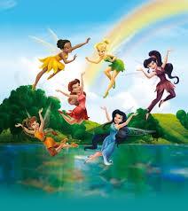 <b>Disney Fairies</b> Spring Valley Wallpaper XL | Disney, Dessin fée ...