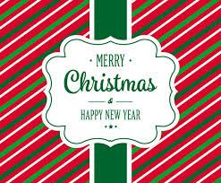 <b>Cute Stripes</b> Christmas Card Vector Art & Graphics | freevector.com