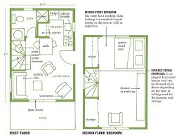 Cabin House Plans   Cottage house plansMountain Cabin House Plans