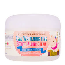 <b>Крем</b> для <b>лица</b> Elizavecca Real Whitening Time Secret Pilling <b>Cream</b>