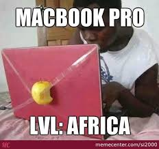 Macbook Pro Africa Style by si2000 - Meme Center via Relatably.com