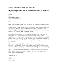 professional resignation letter template   formal resignation    medical resignation letter sample